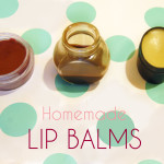kitchen cosmetics natural lip blams flavored and colored